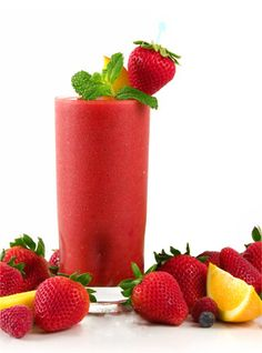Blended Bliss Smoothie  1/2 cup organic orange juice   1/2 cup water   1/2 cup organic strawberries   1 organic banana   Ice optional    Pour orange juice into a blender. Add the strawberries and banana. Blend until smooth. Enjoy!