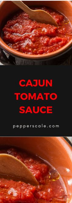 A hearty and spicy sauce... Between the mix of veggies and plenty of spice, Cajun tomato sauce will really rev up that plain pasta night.