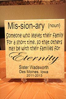 This would be a cool gift to give at farewell or homecoming!