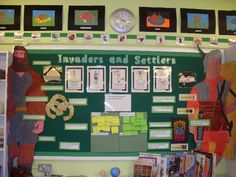 Invaders and Settlers classroom display photo - Photo gallery - SparkleBox