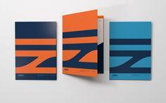 Brand New: New Logo and Identity for SŽDC by Studio Marvil Logo Design Love, Luxury Logo Design, Custom Logo Design, Brand Identity Design, Logo Design Services, Branding Design, Booklet Design, Creative Logo, Creative Review