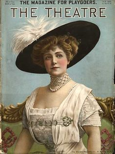 "Lillian Russell. ""The magazine for playgoers. The theatre"""