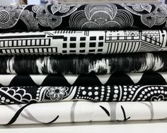 There are few color combinations that are as timelessly chic as black and white. We are excited about the new Duralee Black and White wovens that we just got in recently. Kalah has be… Black And White Fabric, Classic Chic, Arya, Color Combinations, Bed Pillows, Tassels, Jet, Skyline, Textiles