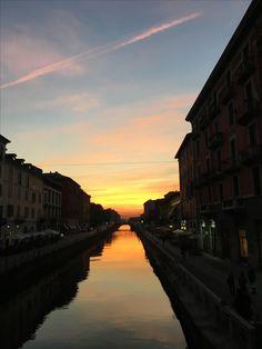 Milano ... Navigli District