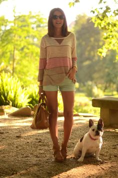 Cute summer outfit via Lovely Pepa