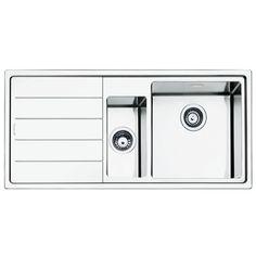 Stainless Steel Kitchen Sink by Roca - new X-Tra sink | sinks ...