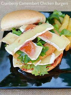 Great idea to use up Cranberry Jelly or Sauce and it is an amazing combination with Chicken and Camembert ~ Quick, easy and delicious !