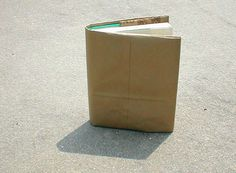 How to Make a Paper-Bag Book Cover - Ten Easy Steps