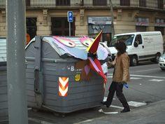 STREET ART UTOPIA By Uriginal In Barcelona, Spain.