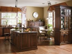 Exceptionnel Warm Woods. Classic Details. Modern Conveniences. Kemper Cabinets Help You  Create Rooms That