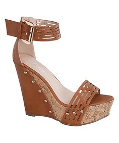 Look what I found on #zulily! Tan Sinome Sandal by Forever Link Shoes #zulilyfinds
