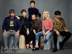 Comic-Con 2016 Star Portraits: Day 3 | Dan Fogler, Katherine Waterston, Eddie Redmayne, Colin Farrell, Alison Sudol, and Ezra Miller, 'Fantastic Beasts and Where to Find Them' | EW.com
