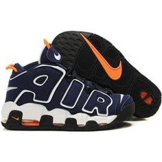405f0e1a84a2 Nike Air More Uptempo Scottie Pippen Shoes Deep Blue White Sport Kyrie  Basketball