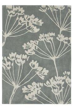 Next - Cow parsley rug