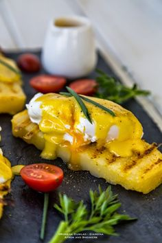 Apron and Sneakers - Cooking & Traveling in Italy and Beyond: Eggs Benedict on Grilled Polenta