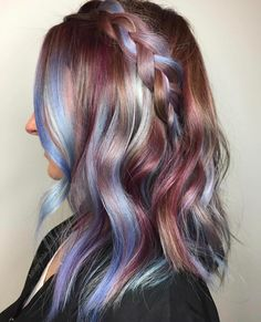 💕💙 Loving these metallic confetti tones of #EuforaColor 💙💕 crafted by @the_blondologist
