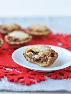Grain-free almond mince pies... with sugar-free mincemeat filling! — Including Cake | food & mindset coaching
