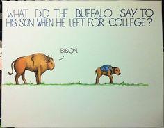 Corny joke, but funny