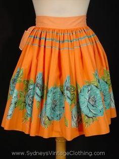 Orange you glad I found this apron?