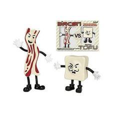 Accoutrements Mr.Bacon Vs. Monsieur Tofu Action Figures Accoutrements http://www.amazon.com/dp/B0014E056A/ref=cm_sw_r_pi_dp_gZWTub0YSRYX5