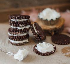 Recipe // Oat Flour + Cocoa + Flaxseeds + Dates + Vanilla + Coconut Oil + Honey + Salt + Coconut Mik + Maple Syrup