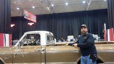 K.M.@ auto show w/69' Chevy Truck