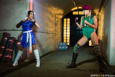 "Round 1: Fuck! Cammy (Christen Courtney) has been jonesing for a taste of Chun Li's (Rina Ellis) tight lil' pussy ever since Super Street Fighter II. Which of these two legendary characters will cum out on top? Either way, ""You Win!"" #ChristenCourtney #RinaEllis #HAM #HotAndMean #brazzerspornstars #brazzerscafe #brazzersgirl #brazzers"