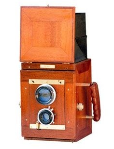 The Rayment 5x4in Twin Lens Reflex Camera