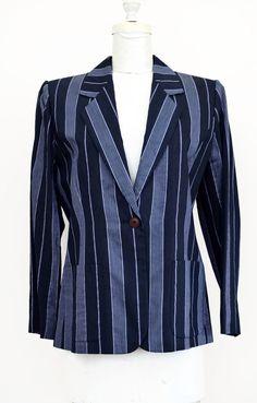 44700aea8e6 Vintage YVES SAINT LAURENT Variation Ladies Jacket / Blazer | Size 12 USA,  44 F #YVESSAINTLAURENT #BasicJacket