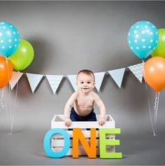Baby C - First Year Photoshoot
