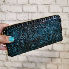 Women's Wallet, Leather, Vintage, Handmade , Hand Tooled Leather, Boho, Bohemian, Large, for Cards, Gift for Her by aymxleather on Etsy Leather Pouch, Leather Tooling, Cow Leather, Cowhide Leather, Small Coin Purse, Large Wallet, Wallets For Women Leather, Western Belts, Leather Design