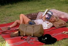 picnics and books. Can you ask for anything more? Oh, a glass of wine perhaps?