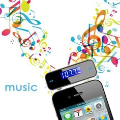 Mini Wireless 3.5mm FM Transmitter In-car LCD 3.5mm Vehicle Car Kit Modulator Handsfree MP3 Audio Music Player For Phone