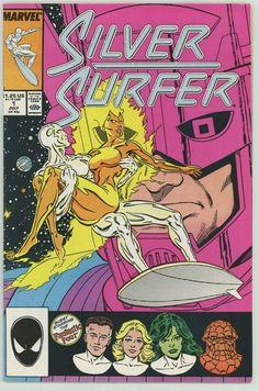 1987 Marvel Comics Silver Surfer #7 vol 3