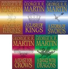 Game of thrones books - George R. R. Martin - don't just watch the series on TV - read the books!!