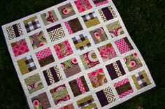 Easy quilt to make.