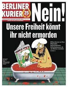 Berliner Kurier : Charlie Hebdo, Nein!