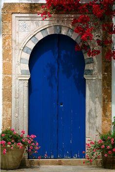 Sidi Bou Said, Tunisia - Beautiful deep, dreaming blue....