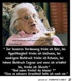 lustiges Bild 'Wann trinkt man Wasser .jpg' von Heidemarie. Eine von 61029 Dateien in der Kategorie 'Lustiges' auf FUNPOT. Kommentar: Wann trinkt man Wasser?