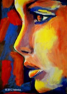 Super painting ideas on canvas for beginners artworks Ideas Oil Pastel Paintings, Oil Pastel Art, Oil Pastel Drawings, Art Drawings, Oil Pastels, Oil Pastel Crayons, Abstract Portrait, Portrait Art, Pastel Portraits