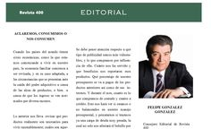 #Editorial del número de Junio de #Revista400 por #FelipeGonzalezGonzalez #Aguascalientes http://issuu.com/400revista/docs/revista_400_junio_2015/4