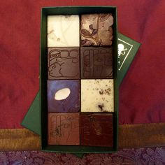Chocolate Bar TASTING KIT 8 Squares of by DancingLionChocolate