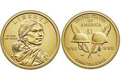 Sacagawea and Native American One Dollar Coin Values Valuable Pennies, Rare Pennies, Valuable Coins, Antique Coins, Old Coins, Dollar Coin Value, Rare Coins Worth Money, Sacagawea Dollar, American Dollar