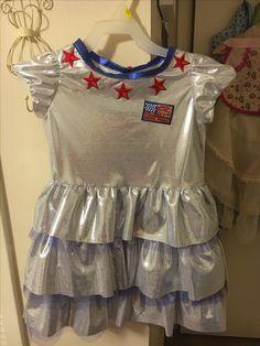 Girl's Astronaut costume