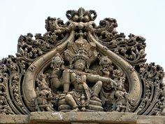 Vishnu in hoysala style