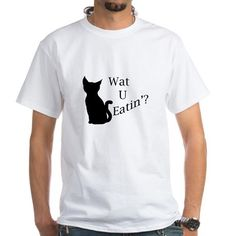 What You Eating Cat T-Shirt