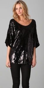 Rachel Zoe top! I love bling!