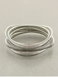 THE SPRING THING SET OF SILVER BRACELETS @originaldesignsjewelry