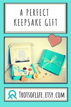 What better way to let someone special know you're thinking of them than with this heartfelt poem and treasures to match.   Whether to show your support to a friend or let a loved one in isolation know you're thinking of them, this thoughtful keepsake gift is the perfect way to cheer someone up during difficult times. This would also make a perfect goodbye gift for someone starting a new journey.  These small treasures with big meanings come in a pretty turquoise box - ready for gifting