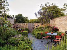 Jinny Blom's own garden in London.